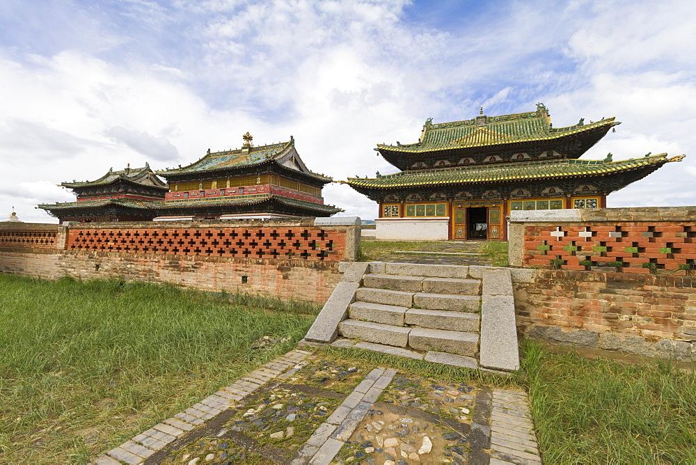 Zuu Temples in Erdene Zuu Monastery, Karakorum (Kharkhorin), Övörkhangai Province, Mongolia