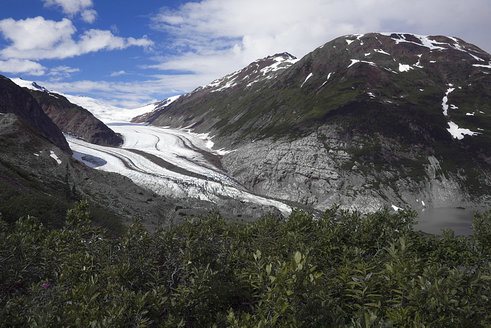 Salmon Glacier, The Fifth Largest Glacier In North America Bordering Alaska And British Columbia