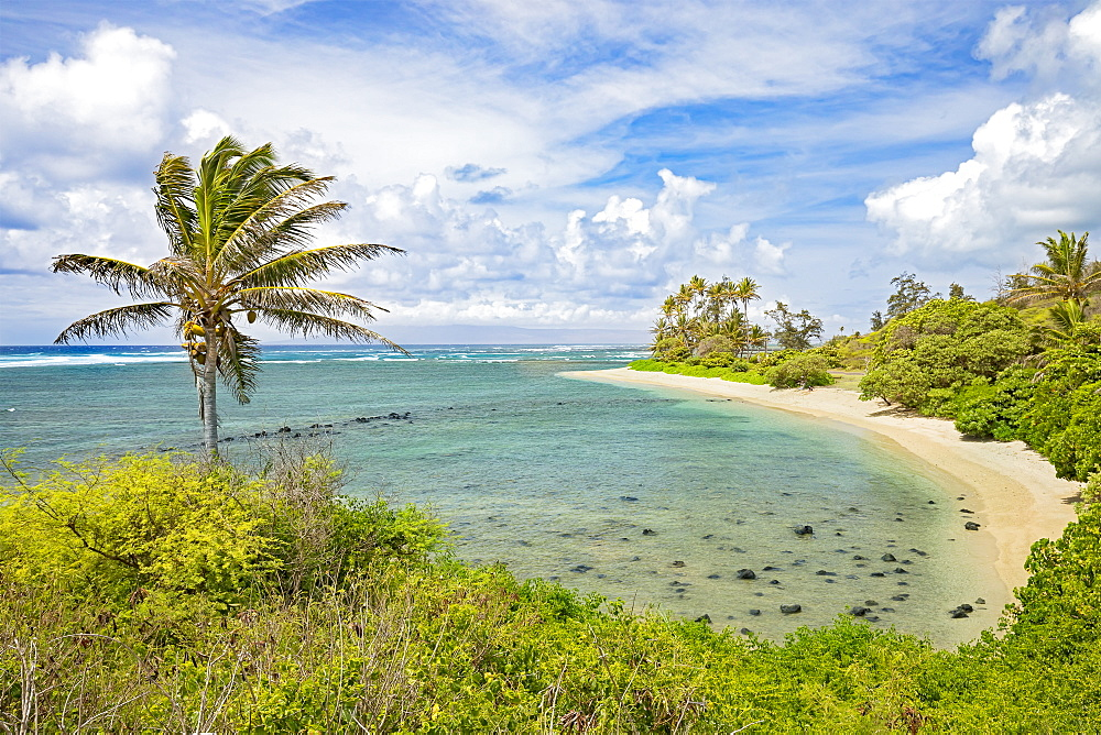 Twenty Mile Beach on the island of Molokai, Molokai, Hawaii, United States of America