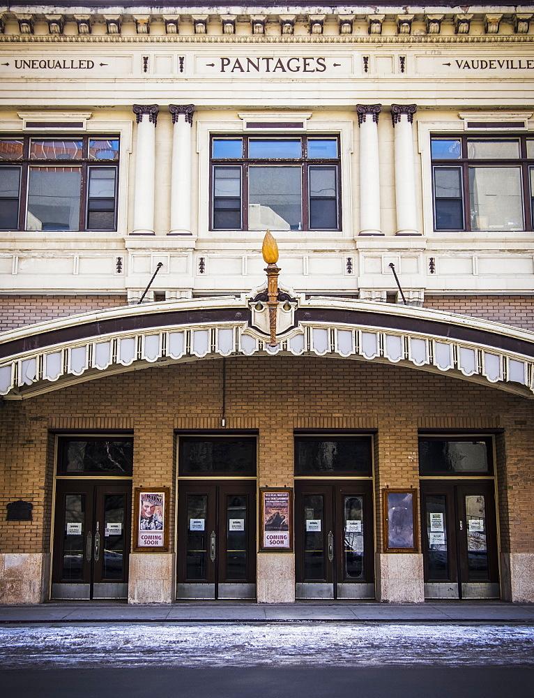 Pantages Playhouse, National Historic Site of Canada, Winnipeg, Manitoba, Canada