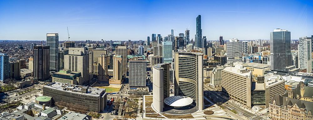 Cityscape of Toronto, Toronto, Ontario, Canada