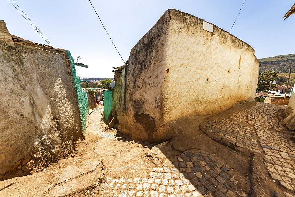 Street scene in Harar Jugol, the fortified historic town, Harar, Harari Region, Ethiopia
