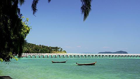 Rawai Beach with Rawai Landing Pier