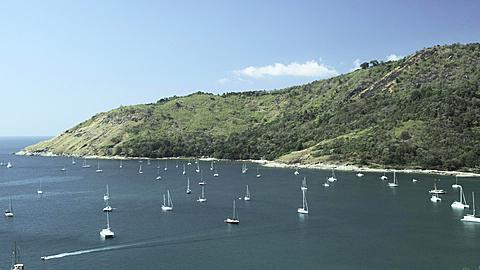 Sailing Boats at Nai Harn
