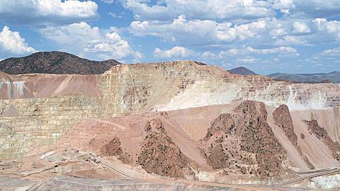 Mining along Highway 191 Northern Arizona