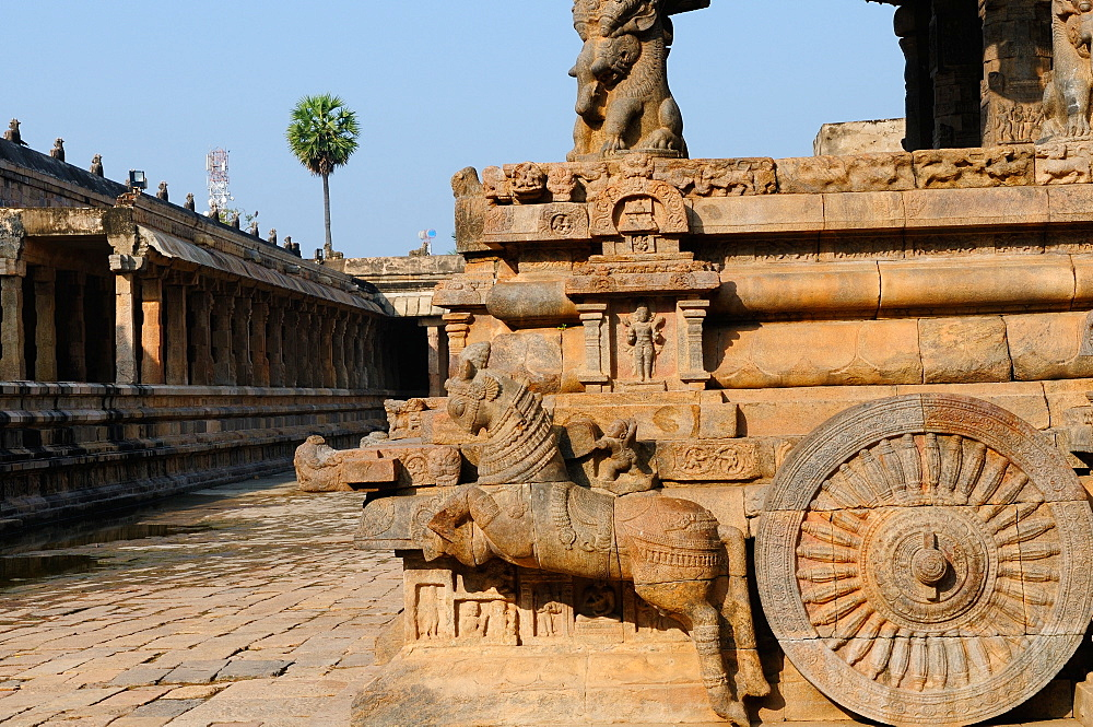 Airavateswara Temple (Darasuram Temple), Darasuram, UNESCO World Heritage Site, Tamil Nadu, India, Asia - 1125-151
