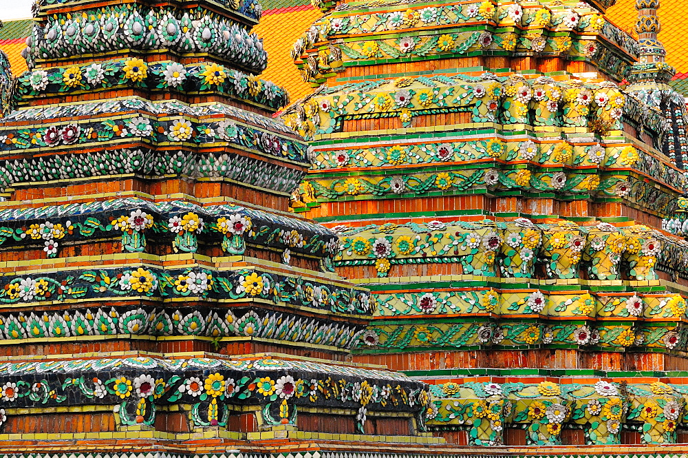Wat Poh temple, Bangkok, Thailand, Southeast Asia, Asia - 1125-152
