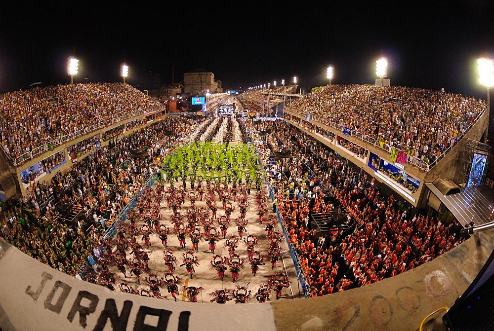 Sambadrome during the Carnival, Rio de Janeiro, Brazil, South America - 1125-86