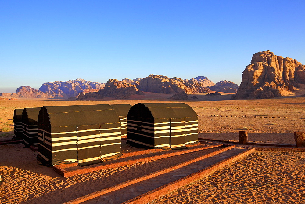 Bedouin Camp, Wadi Rum, Jordan, Middle East