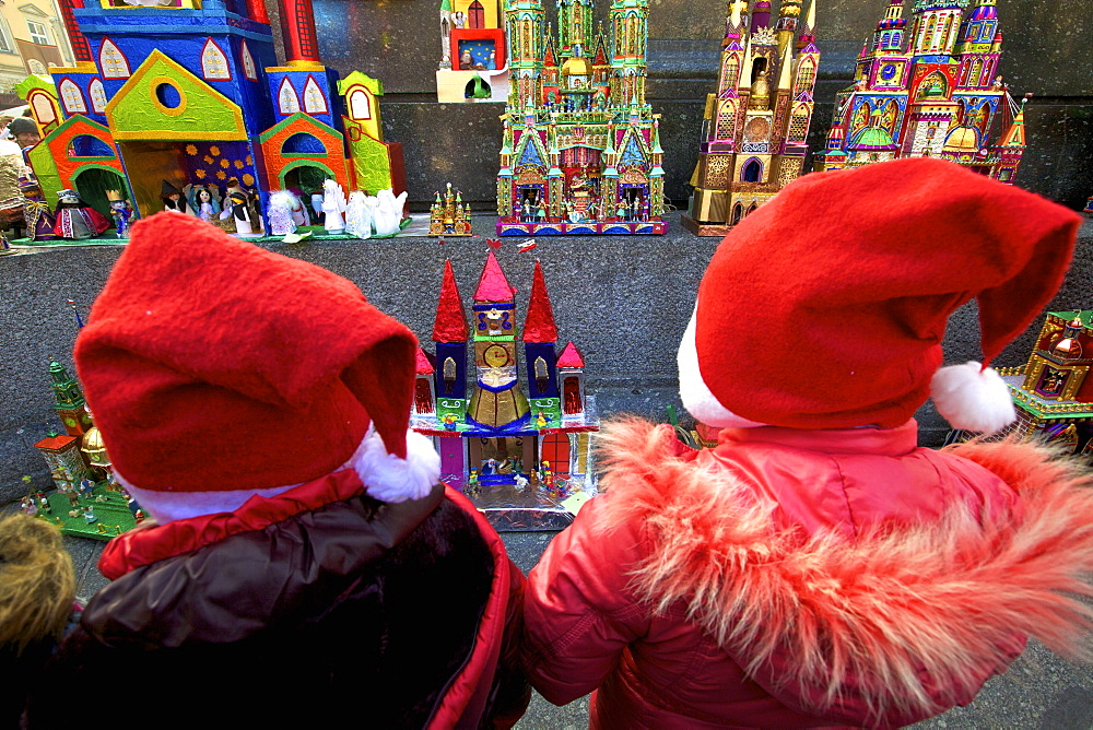 Traditional Christmas Crib Festival, Krakow (Cracow), Poland, Europe