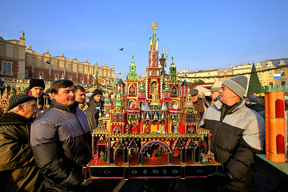Traditional Christmas Crib Festival, Krakow, Poland, Europe