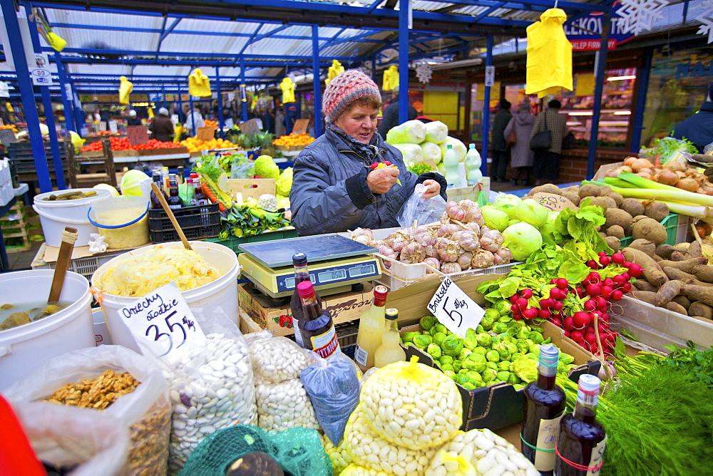 Stary Kleparz Market, Krakow, Poland, Europe