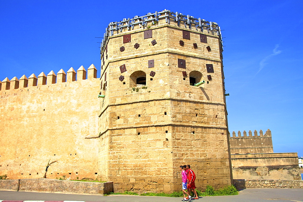 City Walls, Oudaia Kasbah, Rabat, Morocco, North Africa, Africa