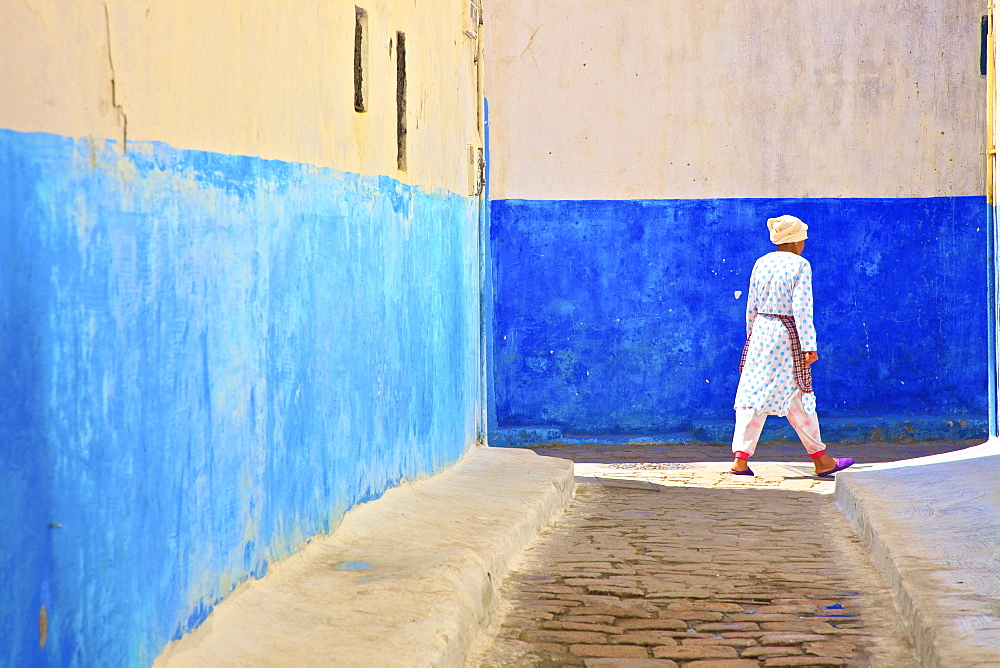Oudaia Kasbah, Rabat, Morocco, North Africa, Africa