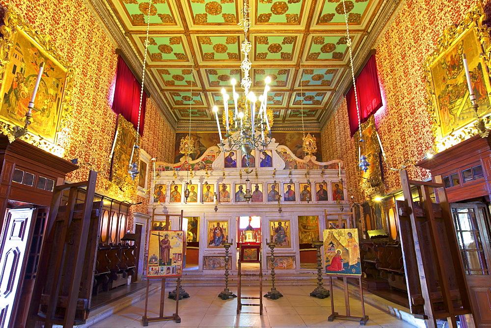 The Church of the Antivouniotissa, Icon Museum, Corfu Old Town, Corfu, The Ionian Islands, Greek Islands, Greece, Europe