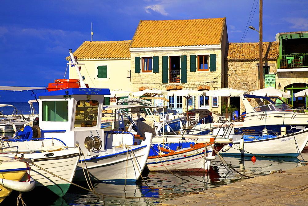 Loggos Harbour, Paxos, The Ionian Islands, Greek Islands, Greece, Europe