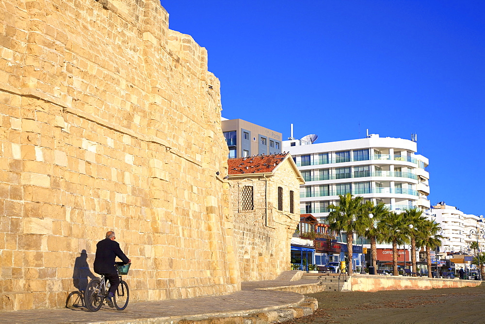 Larnaka Fort, Medieval Museum and Seafront, Larnaka, Cyprus, Eastern Mediterranean Sea
