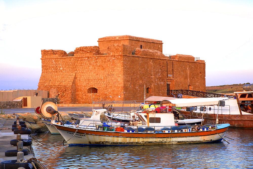 Paphos Castle, Paphos, Cyprus, Eastern Mediterranean Sea, Europe