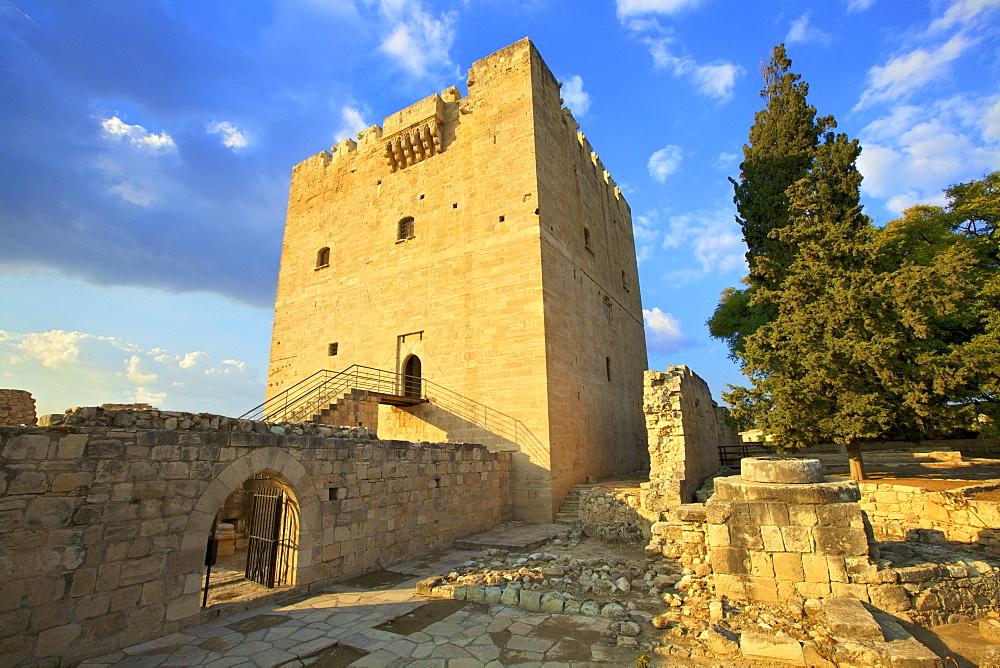 Kolossi Castle, Kolossi, Cyprus, Eastern Mediterranean, Europe