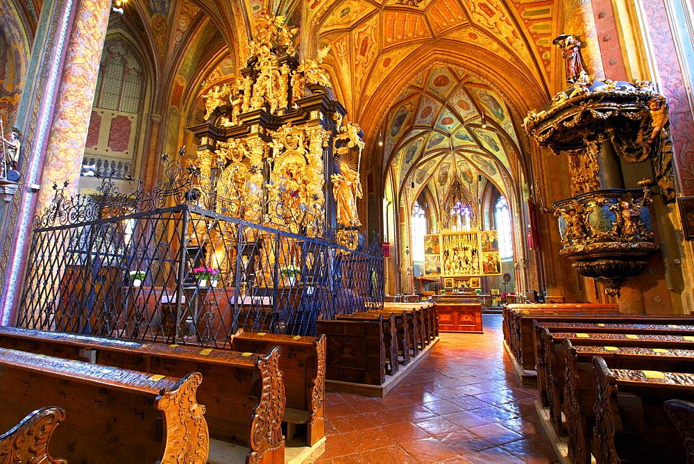 Pilgrimage Church, St. Wolfgang, Austria, Europe
