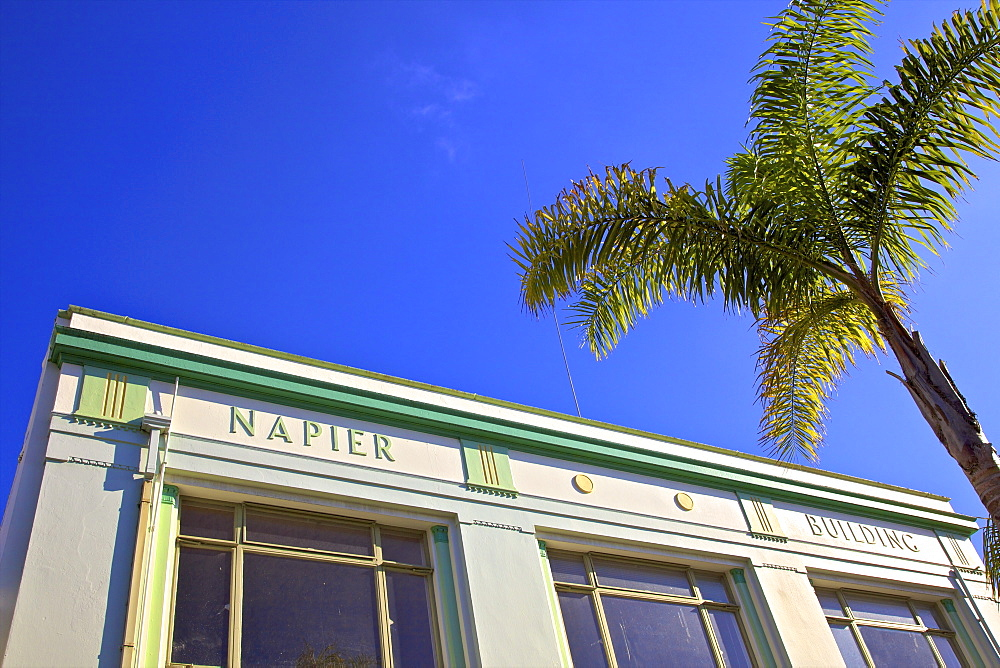 Napier Art Deco Building, Napier, Hawkes Bay, North Island, New Zealand, Pacific - 1126-1620