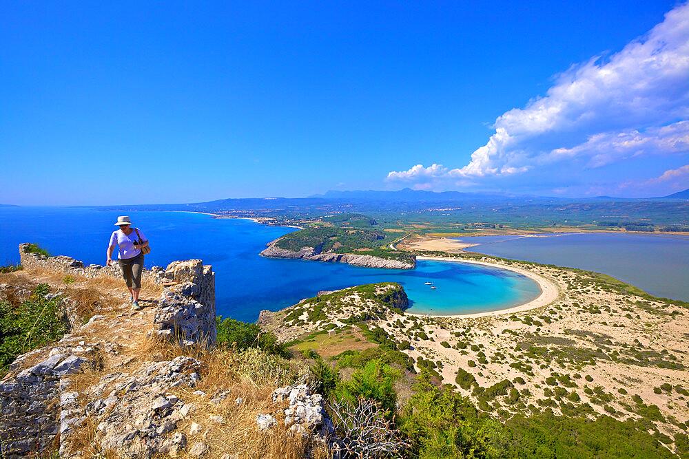 Voidokilia, Messinia, The Peloponnese, Greece, Southern Europe