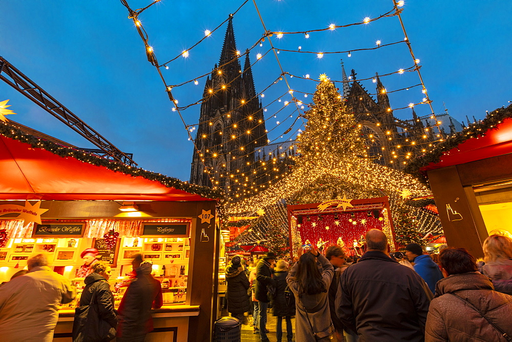Cologne Christmas Market, Cologne, Germany, Europe - 1126-1727