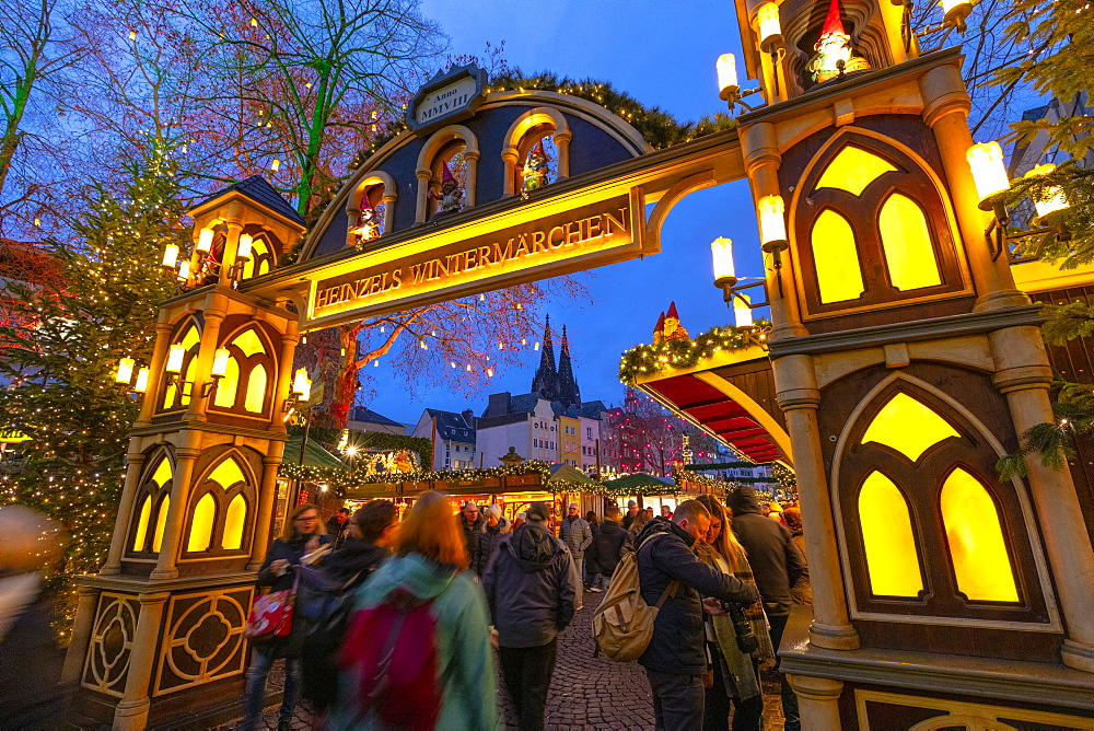 Cologne Christmas Market, Cologne, Germany, Europe - 1126-1735