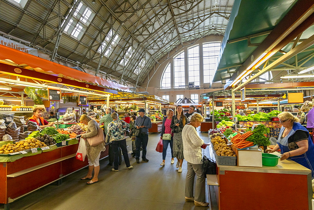 Central Market, Riga, Latvia, Europe