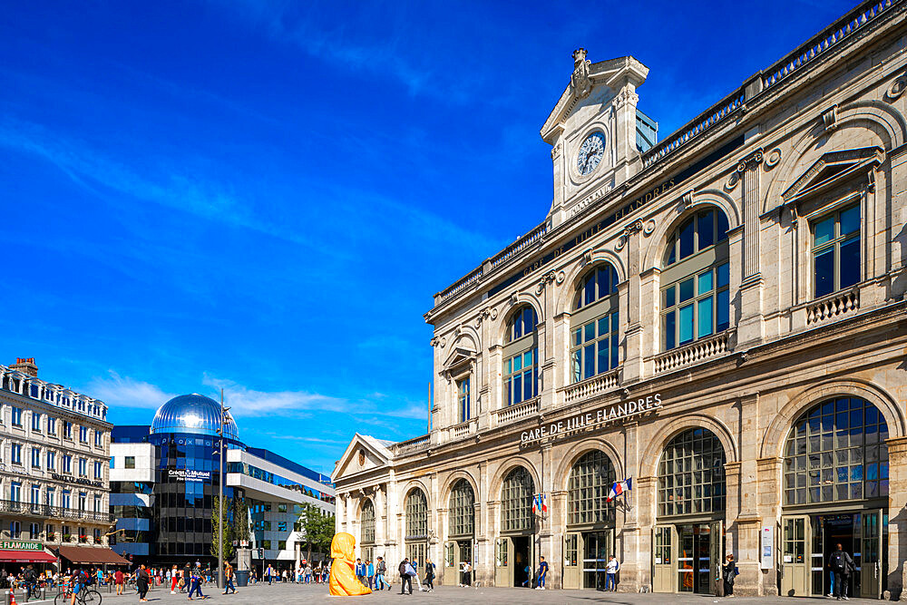 Lille-Flandres Railway Station, Lille, France, West Europe