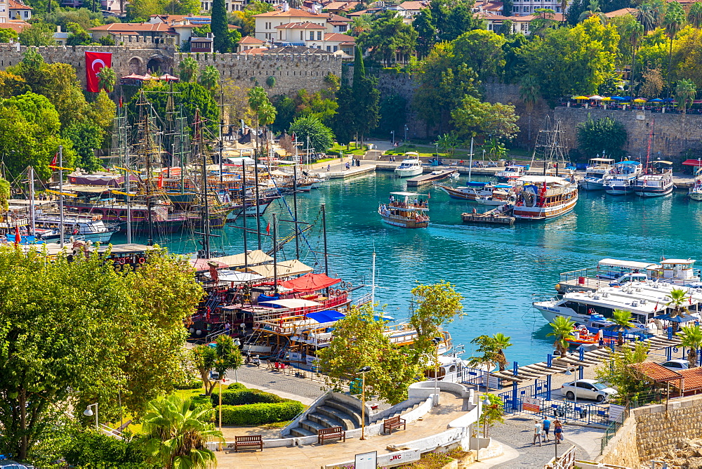 Old Harbour, Kaleici, Antalya, Turkey, Asia Minor, Eurasia