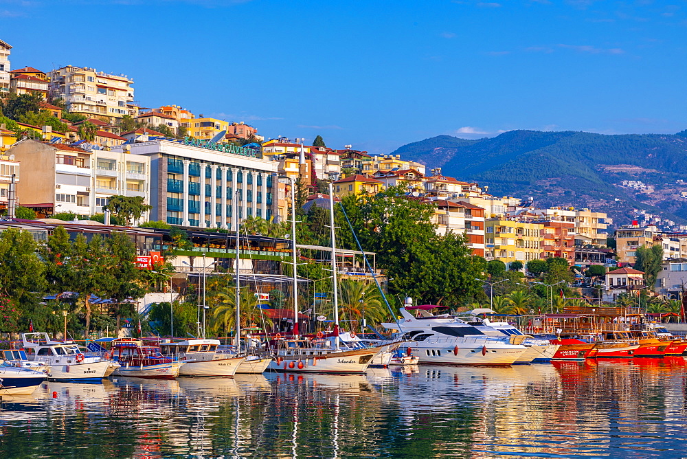Alanya Harbour, Alanya, Turkey