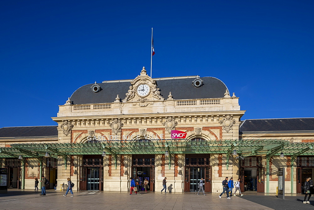 Nice Railway Station, Nice, South of France,