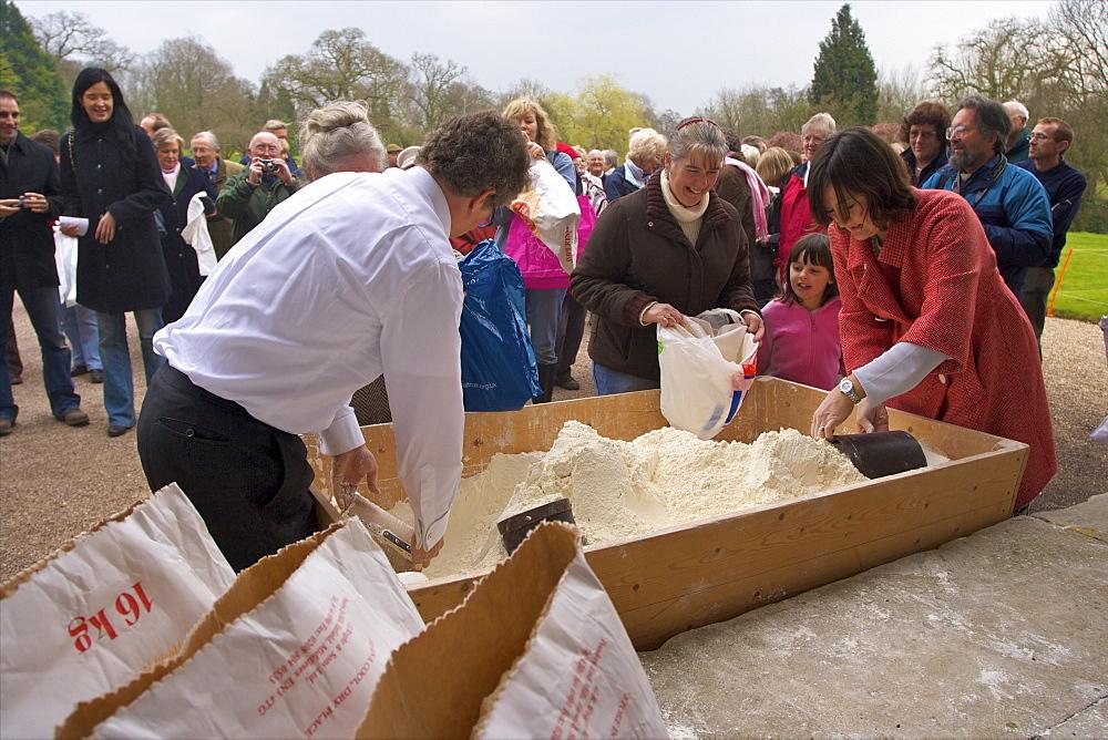 Traditional English Festival of Tichborne Dole, Tichborne, Hampshire, England, United Kingdom, Europe