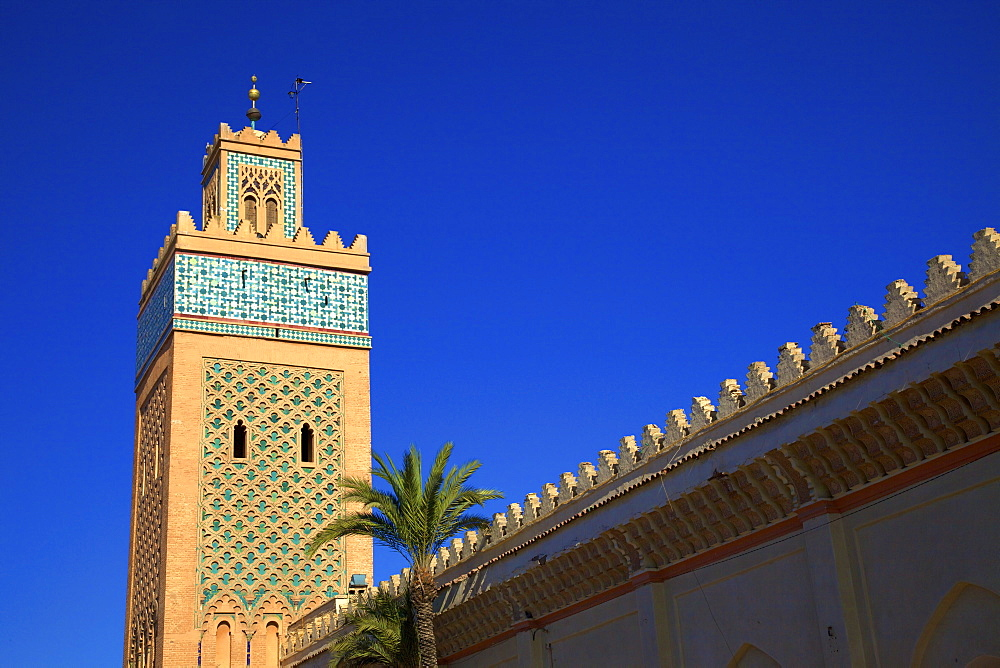 Kasbah Mosque, UNESCO World Heritage Site, Marrakech, Morocco, North Africa, Africa