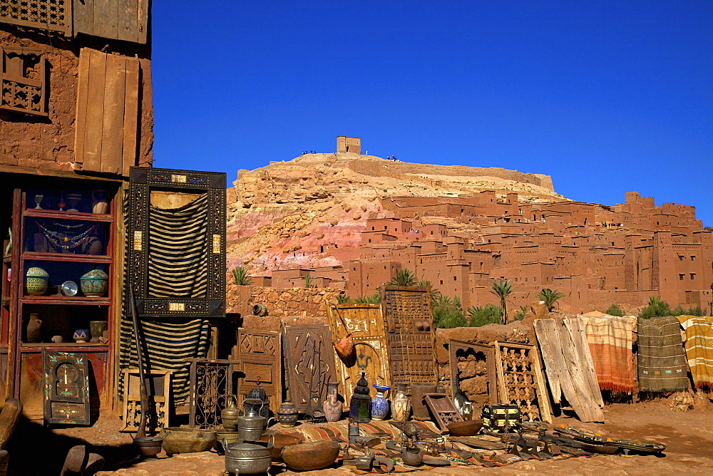 Ait-Benhaddou Kasbah, UNESCO World Heritage Site, Morocco, North Africa, Africa