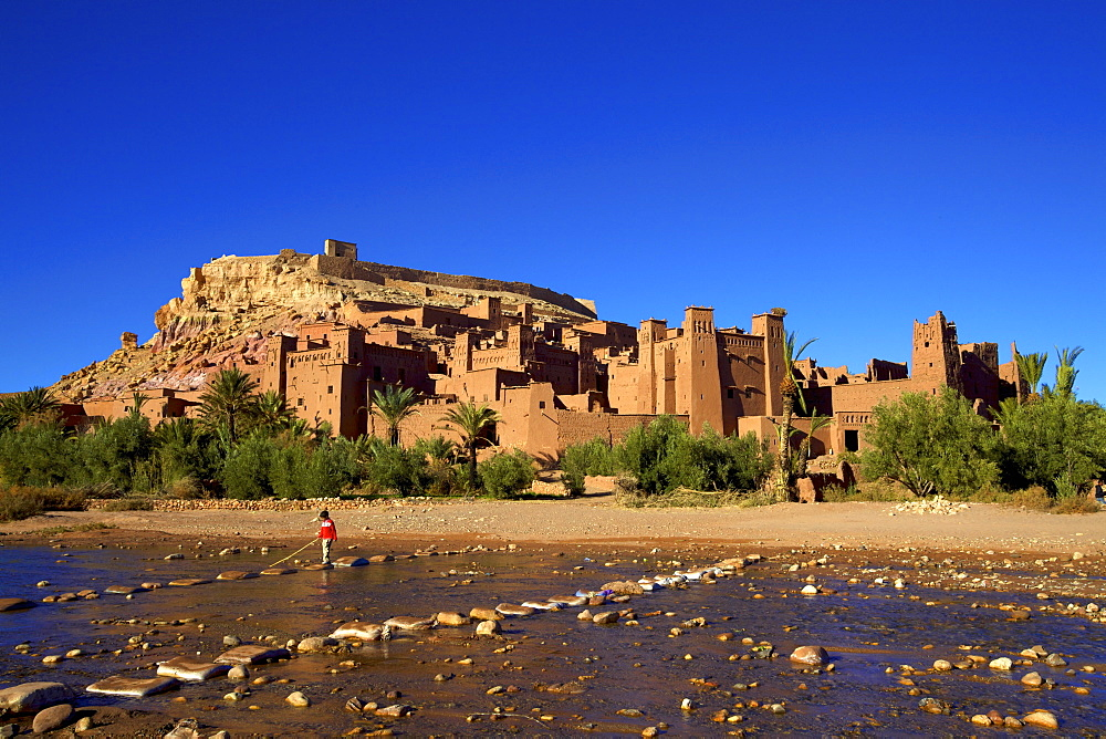 Ait-Benhaddou Kasbah, Morocco, North Africa - 1126-401