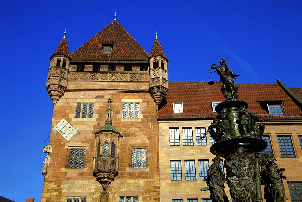 Nassau House, Nuremberg, Bavaria, Germany, Europe