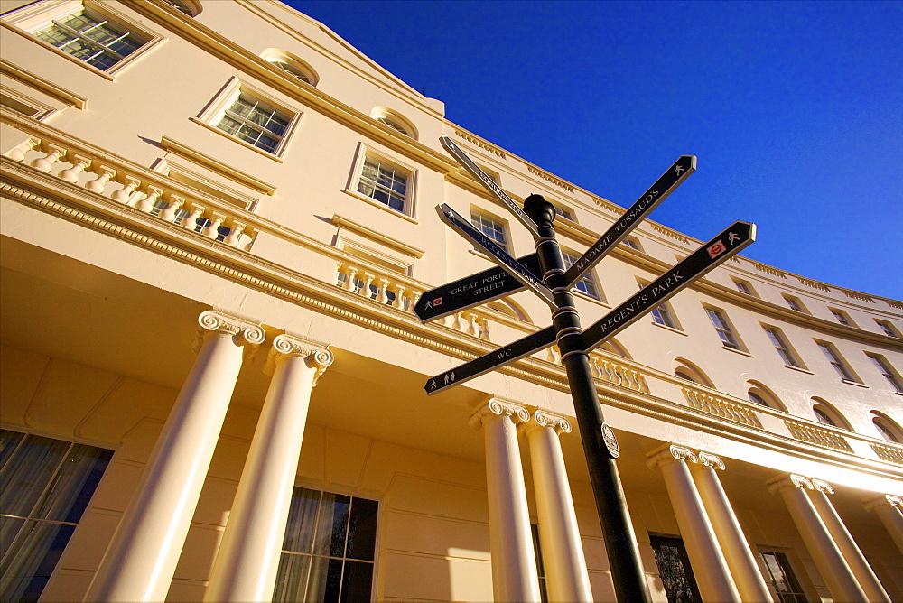 Park Crescent, London, England, United Kingdom, Europe