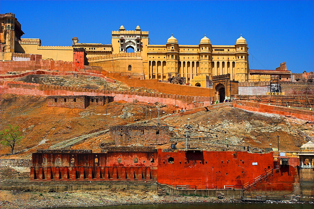 Amber Fort, Jaipur, Rajasthan, India  - 1127-13364