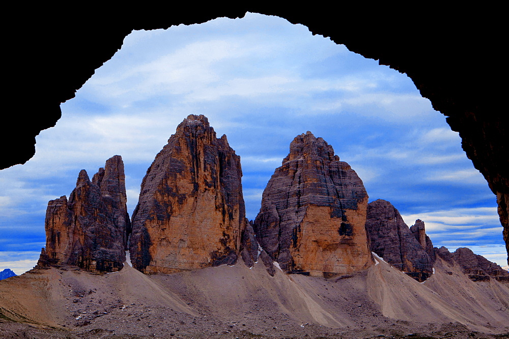 Three Chimneys, Dolomites, South Tyrol, Italy