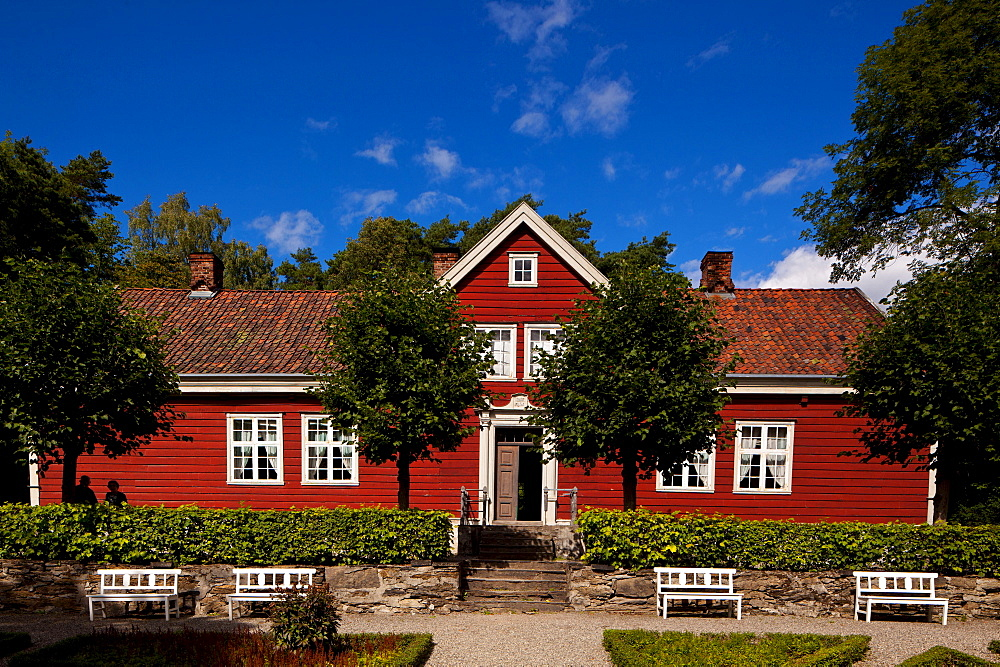 Farm house, Bygdoy, Oslo, Norway