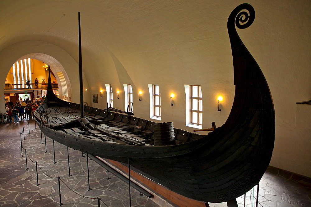Viking ship, Bygdoy, Olso, Norway