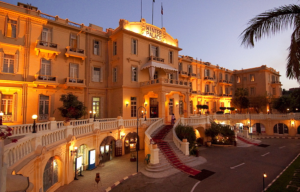 Hotel Winter Palace, Nile, Luxor, Egypt