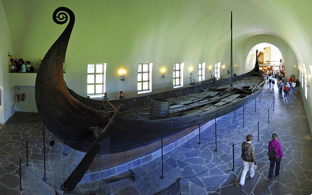 Wooden ship, Viking Ship Museum, Oslo, Norway / Vikingskipshuset