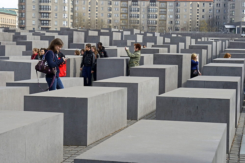Holocaust Memorial, Potsdamer Platz, Berlin, Germany / Memorial to the Murdered Jews of Europe, by Peter Eisenman