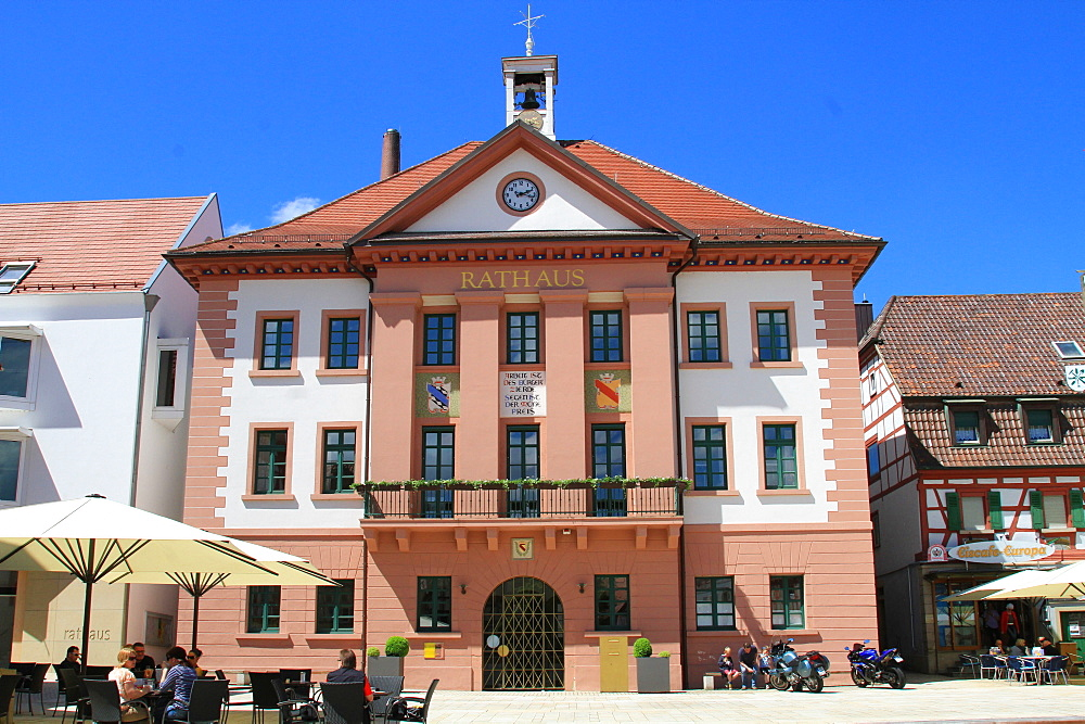 City Hall, Eppingen, Baden Wuerttemberg, Germany