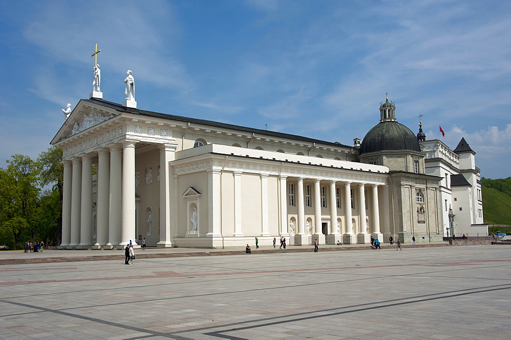 St Stanislaus Cathedral, Vilnius, Lithuania, Baltic states,