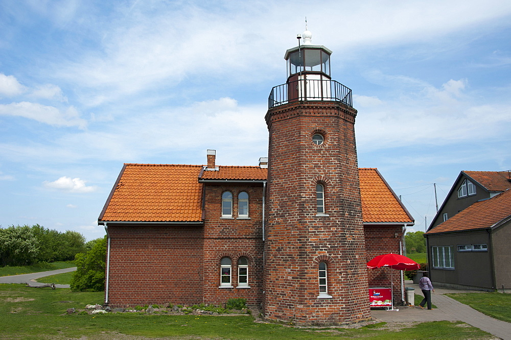Lighthouse, Vente, Lithuania, Baltic states, Europe