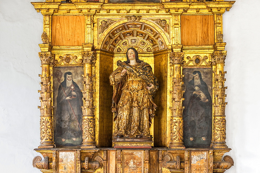 San Francisco Church and Convent, Santa Lucia retable, Quito, Pichincha Province, Ecuador, Unesco World Heritage Site